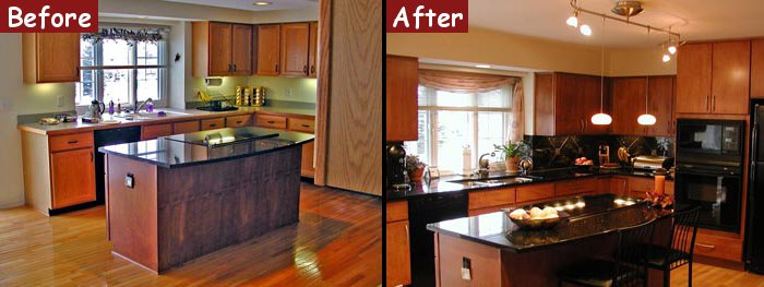 Kitchen Remodel Images Before And After Before And After Kitchen Remodel  Home Design